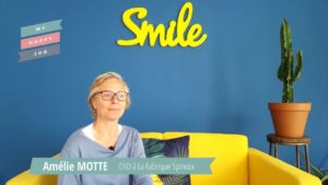 Amelie Motte Chief Happiness Officer