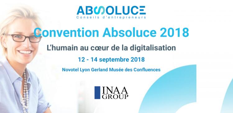 Le Bonheur au Travail et la digitalisation à l'honneur de la Convention Absoluce – réseau d'experts comptables