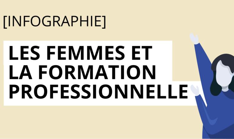Les femmes et la formation professionnelle – infographie