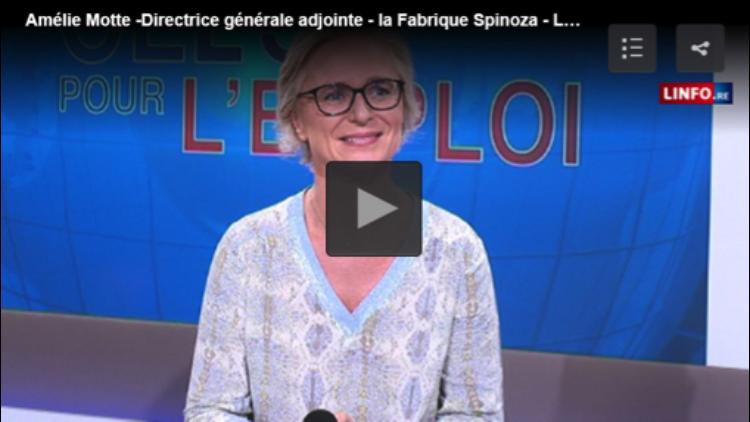 L'académie Spinoza au journal télévisé d'Antenne Réunion