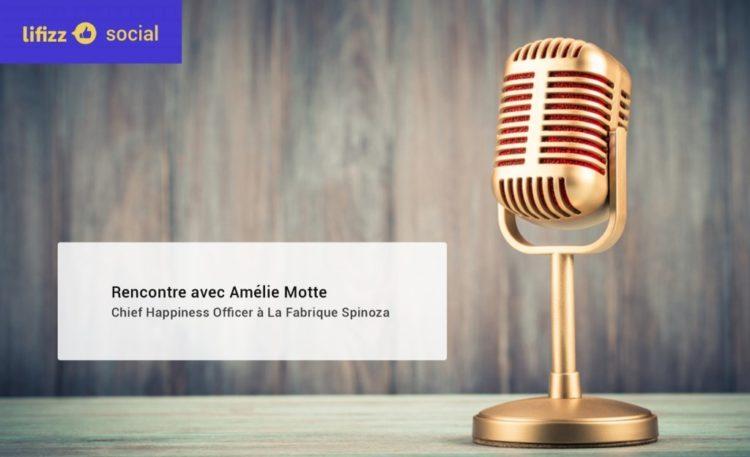 «Il faut redonner ses lettres de noblesses au CHO»: entretien d'Amélie Motte pour le magazine Lifiz