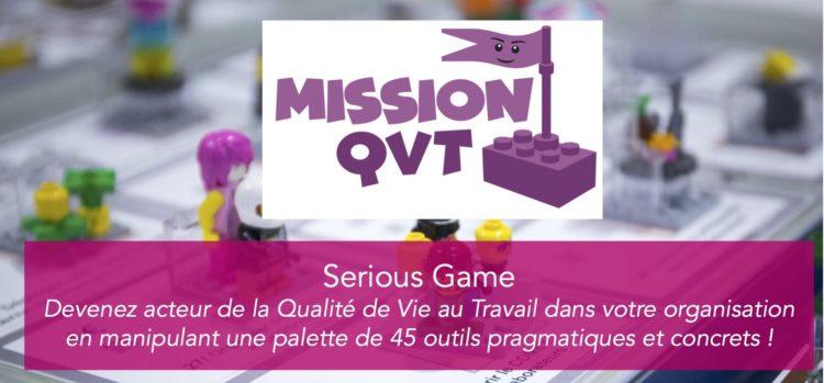 «Mission Qualité de Vie au Travail» –Découvrez notre nouveau Serious Game !